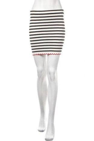 Φούστα Zara Knitwear, Μέγεθος S, Χρώμα Λευκό, 70% βισκόζη, 30% πολυαμίδη, Τιμή 11,30€