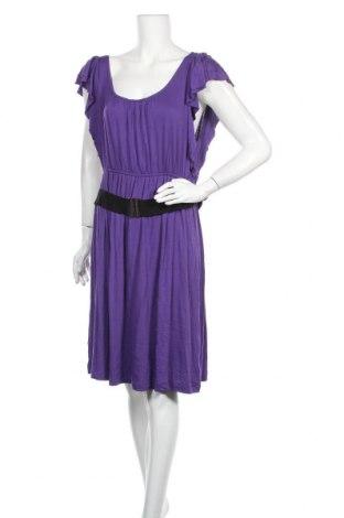 Φόρεμα A.N.A., Μέγεθος L, Χρώμα Βιολετί, 95% βισκόζη, 5% ελαστάνη, Τιμή 11,82€
