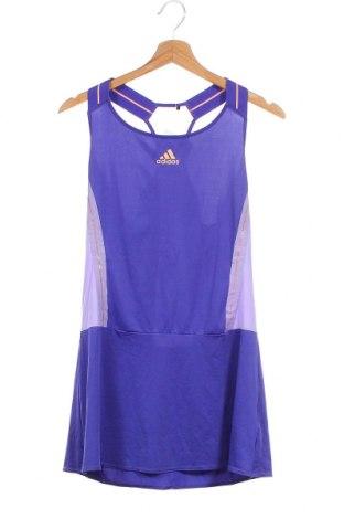 Φόρεμα Adidas, Μέγεθος XS, Χρώμα Μπλέ, Τιμή 19,74€