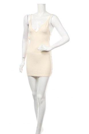 Φόρεμα American Apparel, Μέγεθος S, Χρώμα Εκρού, 60% βισκόζη, 35% πολυαμίδη, 5% ελαστάνη, Τιμή 10,98€