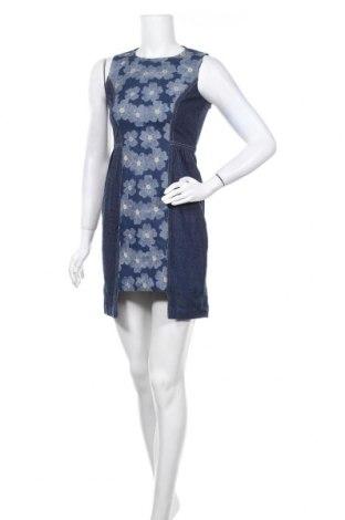 Рокля Anna Sui, Размер S, Цвят Син, 65% полиестер, 30% памук, 5% еластан, Цена 98,10лв.