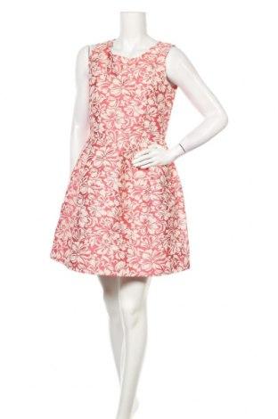 Рокля Atos Lombardini, Размер M, Цвят Розов, 61% полиестер, 35% памук, 4% полиамид, Цена 32,04лв.