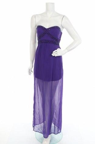 Φόρεμα Ax Paris, Μέγεθος M, Χρώμα Βιολετί, Πολυεστέρας, Τιμή 7,73€