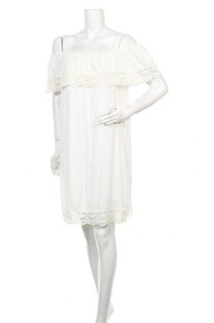 Φόρεμα Best Connections, Μέγεθος M, Χρώμα Λευκό, Βαμβάκι, Τιμή 6,37€
