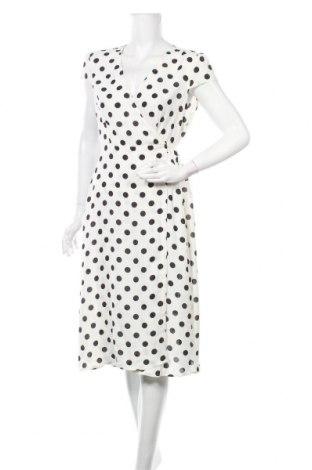 Рокля Boohoo, Размер XL, Цвят Бял, Полиестер, Цена 26,93лв.