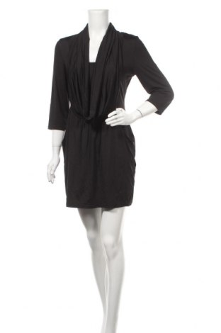 Рокля Caroline K Morgan, Размер XL, Цвят Черен, 92% полиестер, 8% еластан, Цена 29,40лв.