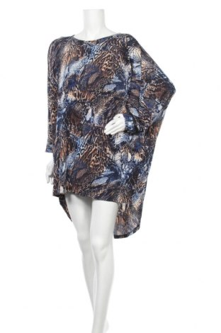 Рокля Caroline K Morgan, Размер XL, Цвят Многоцветен, 92% полиестер, 8% еластан, Цена 30,45лв.