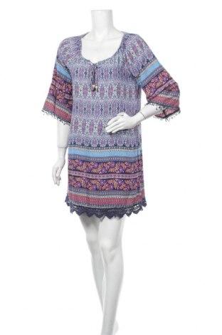 Рокля Caroline K Morgan, Размер L, Цвят Многоцветен, Вискоза, Цена 30,45лв.
