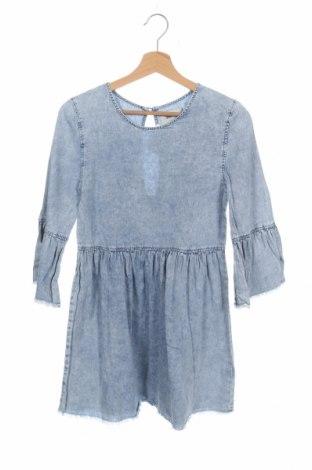 Рокля Denim&Co., Размер XS, Цвят Син, 100% памук, Цена 17,75лв.