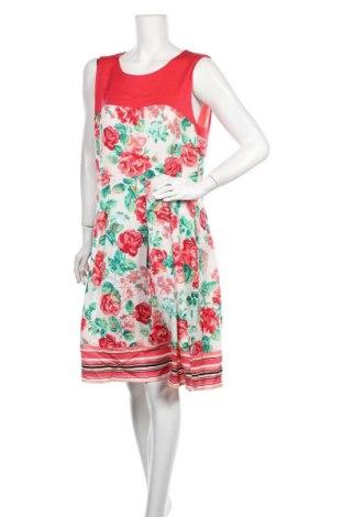 Φόρεμα Diana Ferrari, Μέγεθος XL, Χρώμα Πολύχρωμο, Πολυεστέρας, Τιμή 11,82€
