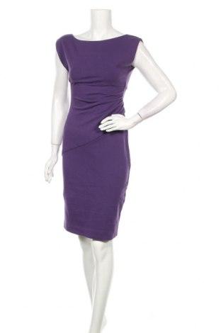 Рокля Diane Von Furstenberg, Размер S, Цвят Лилав, 71% вискоза, 23% полиамид, 6% еластан, Цена 121,80лв.