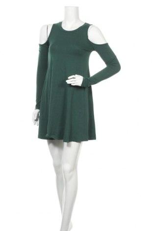 Рокля Forever 21, Размер S, Цвят Зелен, Цена 26,93лв.