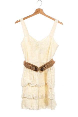 Φόρεμα Guess, Μέγεθος XXS, Χρώμα Εκρού, 80% βαμβάκι, 20% πολυαμίδη, Τιμή 38,32€