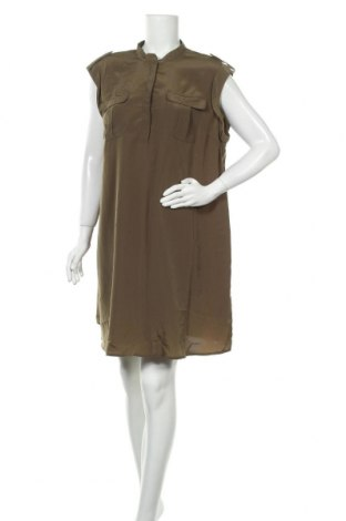 Рокля H&M Mama, Размер XL, Цвят Зелен, Полиестер, Цена 13,23лв.