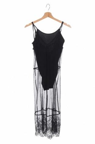 Рокля H&M by Coachella, Размер XXS, Цвят Черен, Полиамид, Цена 39,90лв.
