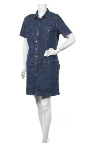 Φόρεμα John Baner, Μέγεθος XL, Χρώμα Μπλέ, 98% βαμβάκι, 2% ελαστάνη, Τιμή 13,64€