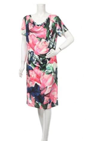 Рокля Liz Jordan, Размер XL, Цвят Многоцветен, 95% полиестер, 5% еластан, Цена 29,40лв.