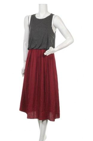 Φόρεμα Loft By Ann Taylor, Μέγεθος M, Χρώμα Γκρί, Βισκόζη, ελαστάνη, πολυεστέρας, Τιμή 27,05€