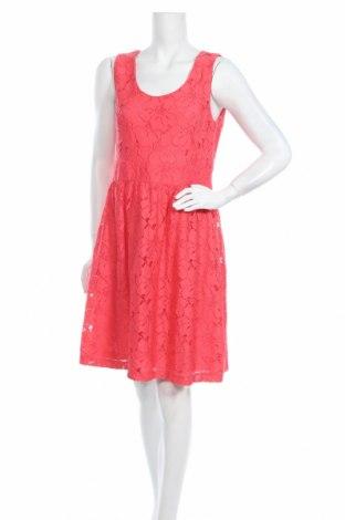 Φόρεμα Loft By Ann Taylor, Μέγεθος M, Χρώμα Ρόζ , Βισκόζη, Τιμή 51,44€