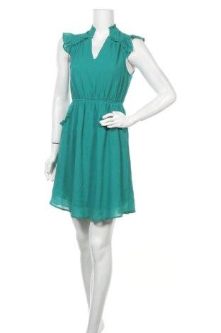 Рокля Monteau, Размер S, Цвят Зелен, Полиестер, Цена 30,45лв.