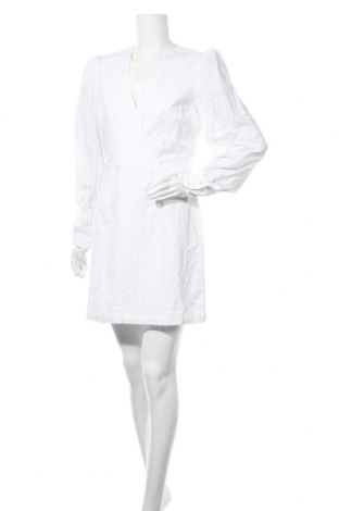 Рокля Na-Kd, Размер M, Цвят Бял, Памук, Цена 44,25лв.