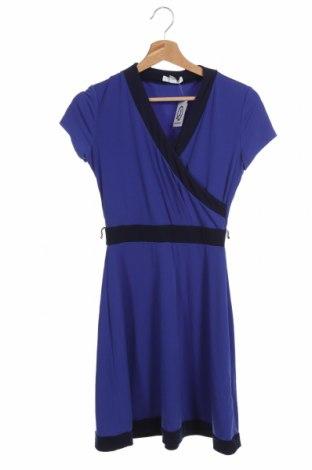 Φόρεμα New York & Company, Μέγεθος XS, Χρώμα Μπλέ, 95% πολυεστέρας, 5% ελαστάνη, Τιμή 14,03€