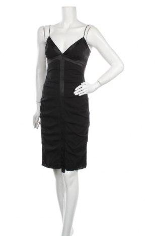 Рокля Nicole Miller, Размер S, Цвят Черен, 92% коприна, 8% еластан, Цена 111,30лв.