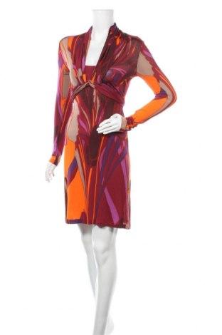 Рокля Nicowa, Размер XS, Цвят Многоцветен, 90% вискоза, 10% еластан, Цена 11,72лв.