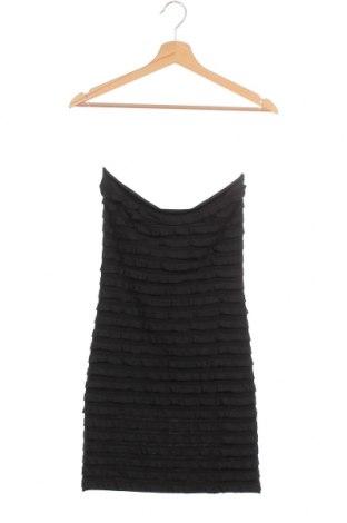 Рокля Silvian Heach, Размер XS, Цвят Черен, 95% полиестер, 5% еластан, Цена 30,02лв.