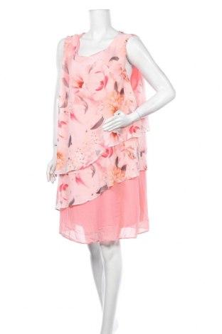 Рокля Suzanne Grae, Размер 3XL, Цвят Розов, Полиестер, Цена 25,20лв.