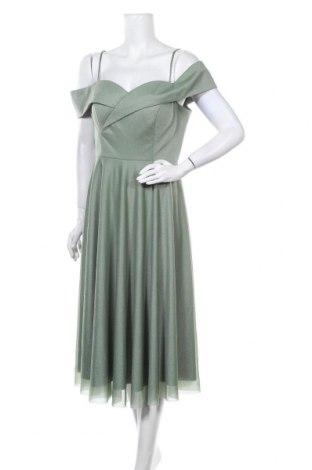 Рокля Troyden, Размер XL, Цвят Зелен, Полиестер, Цена 76,45лв.