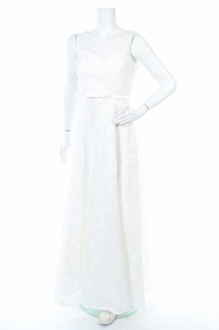 Рокля Troyden, Размер L, Цвят Бял, Полиестер, Цена 276,75лв.