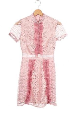 Φόρεμα True Decadence, Μέγεθος XS, Χρώμα Ρόζ , Πολυεστέρας, Τιμή 76,74€