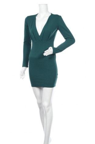 Рокля Uk 2 La, Размер M, Цвят Зелен, 95% полиестер, 5% еластан, Цена 24,41лв.
