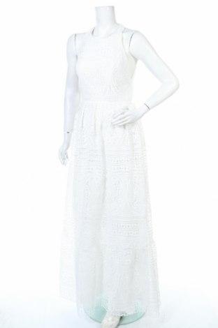 Рокля Unique, Размер M, Цвят Бял, Полиестер, Цена 209,25лв.