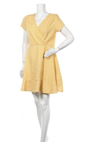 Φόρεμα Valley Girl, Μέγεθος XL, Χρώμα Κίτρινο, 95% πολυεστέρας, 5% ελαστάνη, Τιμή 10,56€