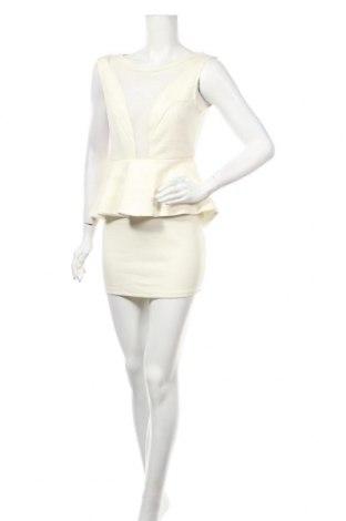 Рокля White Closet, Размер M, Цвят Екрю, Полиестер, Цена 60,69лв.