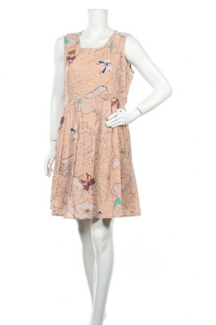 Рокля Yumi, Размер XL, Цвят Розов, Памук, Цена 22,68лв.