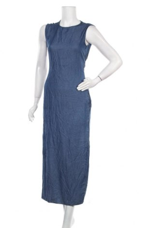 Рокля Zara, Размер S, Цвят Син, Лиосел, Цена 34,91лв.
