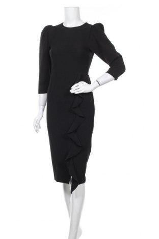 Šaty  Zara, Velikost S, Barva Černá, 89% polyester, 11% elastan, Cena  455,00Kč