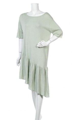 Φόρεμα Zara Knitwear, Μέγεθος S, Χρώμα Πράσινο, Βαμβάκι, Τιμή 14,09€