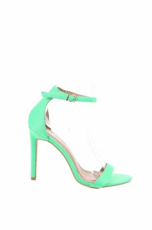 Σανδάλια Bebo, Μέγεθος 36, Χρώμα Πράσινο, Κλωστοϋφαντουργικά προϊόντα, Τιμή 19,56€