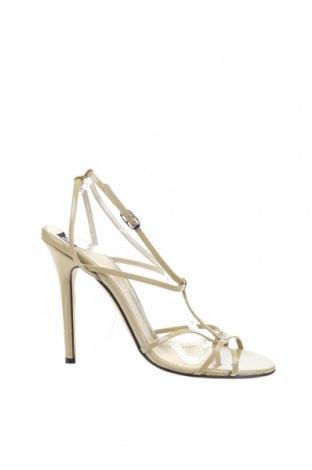 Сандали Dolce & Gabbana, Размер 40, Цвят Бежов, Естествена кожа, Цена 180,70лв.