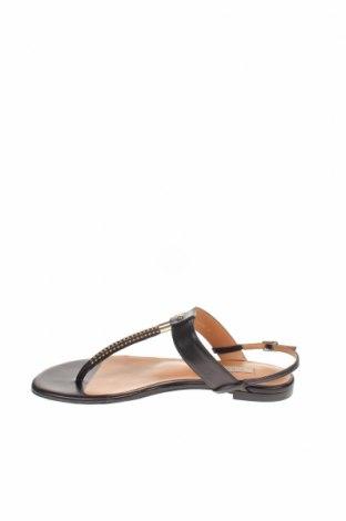 Сандали Pura Lopez, Размер 37, Цвят Черен, Естествена кожа, Цена 94,17лв.