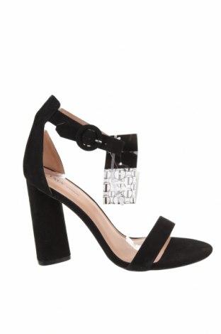Σανδάλια Tata, Μέγεθος 41, Χρώμα Μαύρο, Κλωστοϋφαντουργικά προϊόντα, Τιμή 19,56€