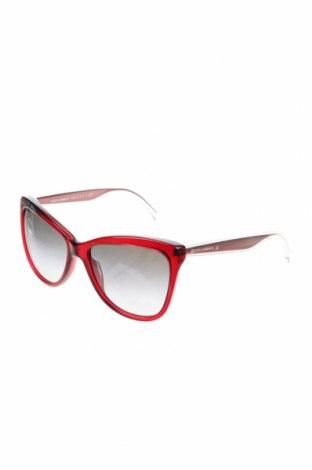 Слънчеви очила Dolce & Gabbana, Цвят Червен, Цена 154,70лв.