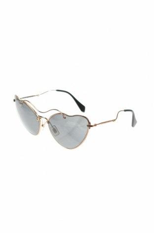 Γυαλιά ηλίου Miu Miu, Χρώμα Χρυσαφί, Τιμή 197,32€