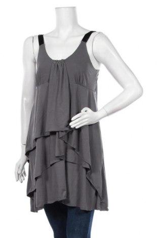 Туника Caroline K Morgan, Размер XL, Цвят Сив, 92% полиестер, 8% еластан, Цена 18,90лв.