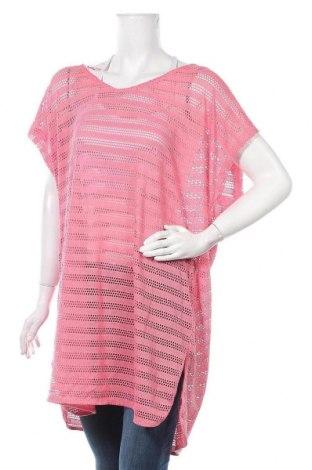 Туника Clothing & Co, Размер XXL, Цвят Розов, 94% полиестер, 6% еластан, Цена 19,95лв.