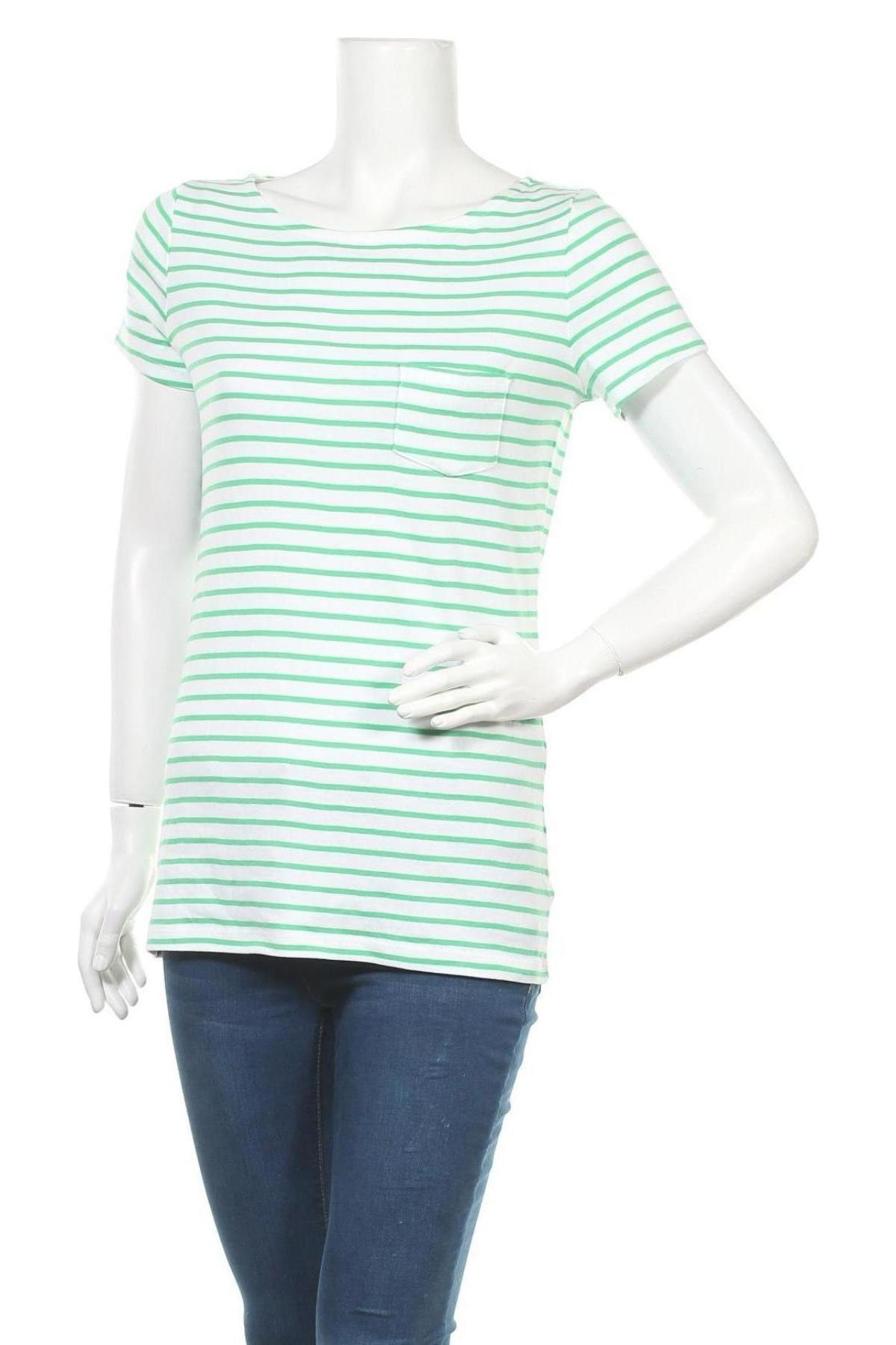 Дамска тениска Esprit, Размер XL, Цвят Бял, Памук, Цена 12,60лв.